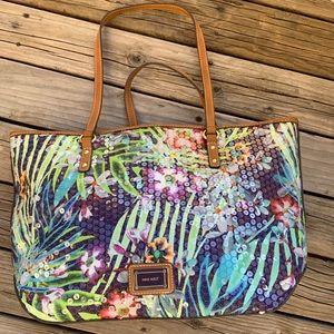 Nine West Sequined Handbag Tote NWOT
